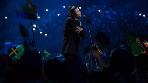 Португалец Собрал снова впереди всех: обнародовали самые популярные видео участников Евровидения