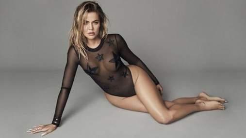 Хлої Кардашян презентувала нову колекцію сексуальної білизни: спокусливі фото