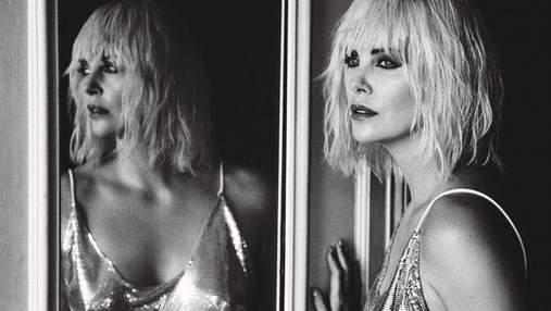 Шарлиз Терон стала лицом модного глянца: стильная фотосессия