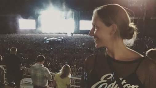 Катерина Осадча показала, як розважалася на концерті Depeche Mode