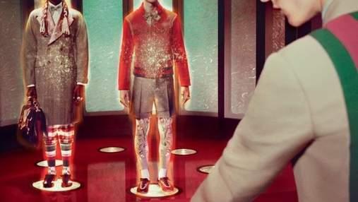 """Gucci випустили рекламу нової колекції у стилі """"Стартрек"""": з'явилось відео"""