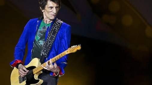 """В музиканта """"The Rolling Stones"""" Ронні Вуда виявили рак легень"""
