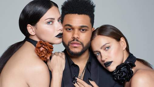 Ирина Шейк, Weeknd и другие звезды собрались для юбилейного выпуска глянца: стильные фото