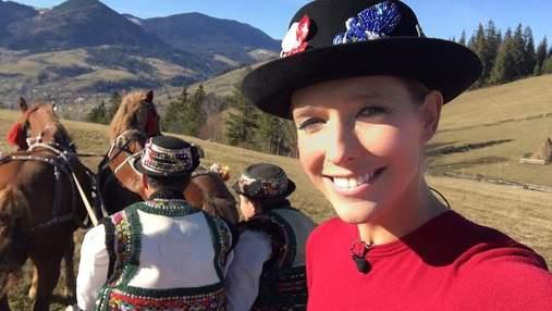 Катя Осадча та Марія Яремчук похизувалися відпочинком в Карпатах: мальовничі фото