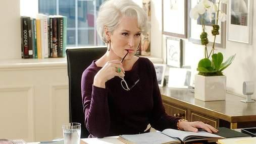 """Зірка """"Диявол носить тільки Prada"""" Меріл Стріп стала обличчям Vogue"""
