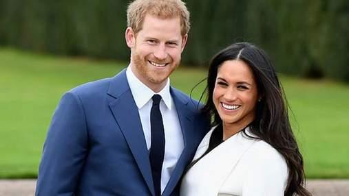 Принц Гаррі та Меган Маркл вперше вийшли у світ як наречені: з'явились фото
