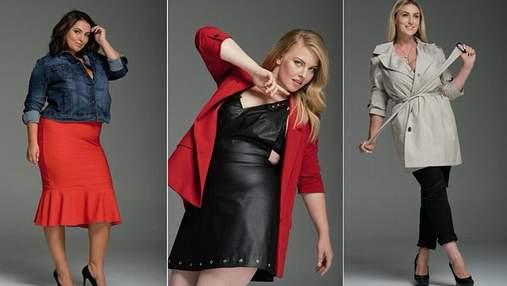 """Финалистки шоу """"Модель XL"""" снялись в образах соблазнительниц для глянца: фото"""