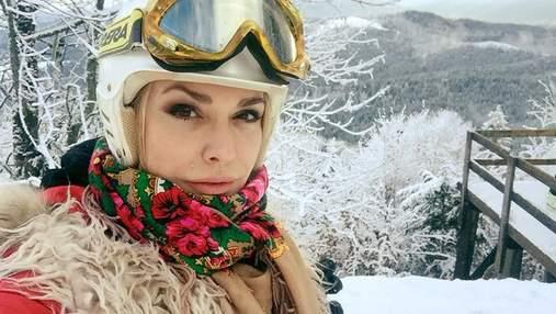 Ольга Сумская вместе с семьей поехала на отдых в Карпаты: сказочные фото