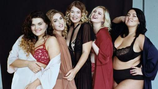 """Учасниці шоу """"Модель XL"""" знялися у нижній білизні: спокусливі фото"""