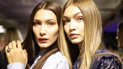 Сестры Хадид снялись в совместной фотосессии для Vogue: фото