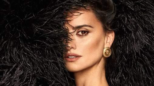Пенелопа Крус снялась в элегантной фотосессии для модного глянца