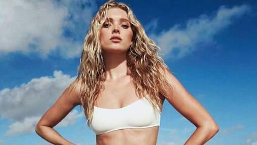 """""""Ангел"""" Victoria's Secret Ельза Госк знялась в рекламі сексуальної лінії купальників: фото"""