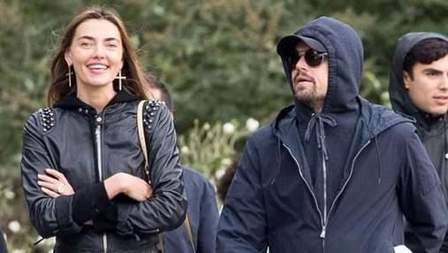 Українська модель Аліна Байкова прокоментувала чутки про стосунки з Леонардо Ді Капріо