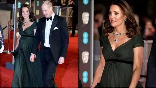 Чи підтримала Кейт Міддлтон чорний дрес-код на BAFTA Awards 2018: фото