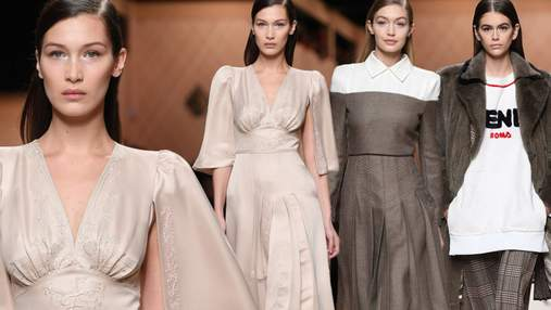 Чем поразила новая коллекция Fendi: стильные образы на Неделе моды в Милане
