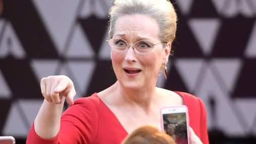 """Меріл Стріп провокативно звинуватили у травмі на """"Оскарі 2018"""""""