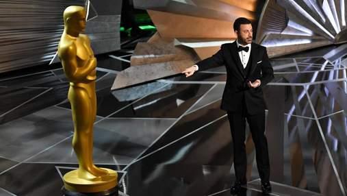 Джиммі Кіммел згадав про секс-скандал на церемонії Оскар 2018