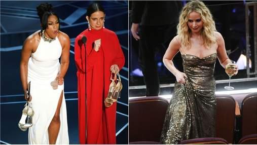 Оскар 2018: найкумедніші фото зірок з церемонії