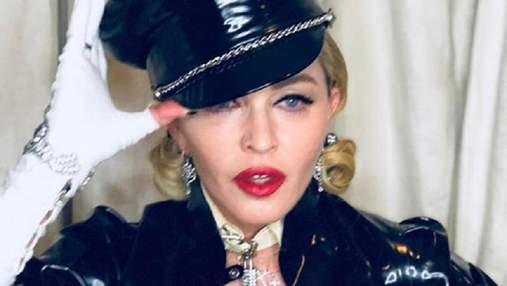 """Мадонна """"засветила"""" грудь на церемонии """"Оскар"""": фото"""