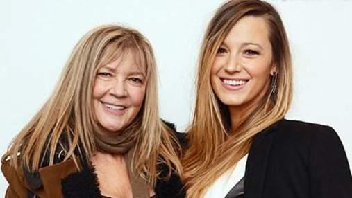 Кіноактриса Блейк Лайвлі вразила неймовірною схожістю з мамою: фото