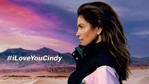 Синди Кроуфорд затанцевала в рекламе в стиле 80-х: видео