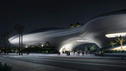 Космический корабль посреди Лос-Анджелеса: как будет выглядеть музей Джорджа Лукаса