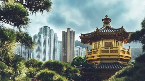 Красота природы и урбанизм: фотограф показал контрастный колорит Гонконга