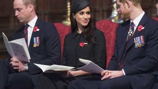 Принц Вільям ледь не заснув на поминальній службі: курйозне відео