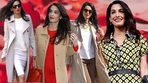 Как одеваться на работу в стиле Амаль Клуни: 10 ярких идей
