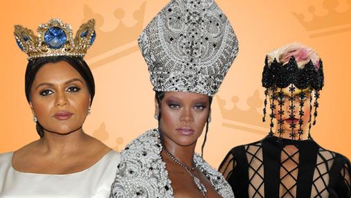 Німби, тіари і корони: найкращі головні убори Met Gala 2018