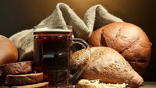 Простий рецепт домашнього квасу з хліба