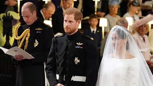 Королівське весілля принца Гаррі та Меган Маркл: фото розкішної сукні нареченої