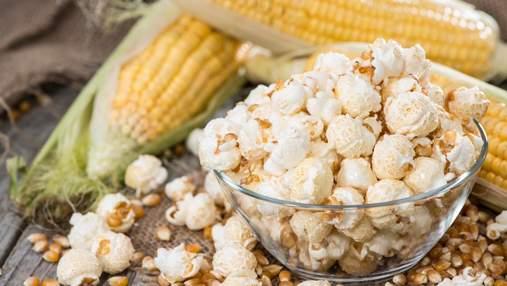 Чим корисний та шкідливий попкорн: цікаві факти