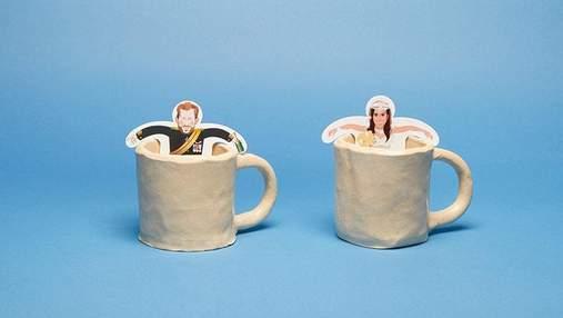 У мережі кепкують з найбезглуздіших товарів із зображенням принца Гаррі та Меган Маркл: фото