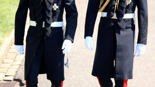 Принц Гаррі прибув на королівське весілля зі своїм братом Вільямом: промовисті фото