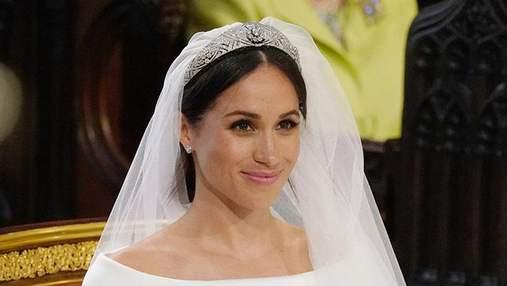 З'явились перші фото Меган Маркл у весільному вбранні