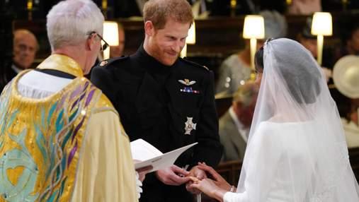 Принц Гаррі та Меган Маркл обмінялись обручками: зворушливі фото і відео