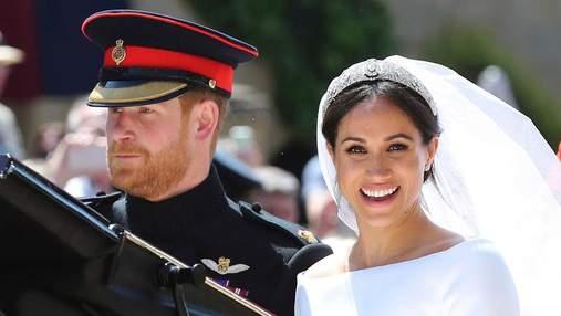 Що відомо про розкішну тіару Меган Маркл для весільної церемонії