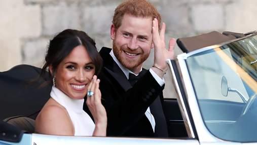 Королівське весілля: Меган Маркл продемонструвала другий весільний образ