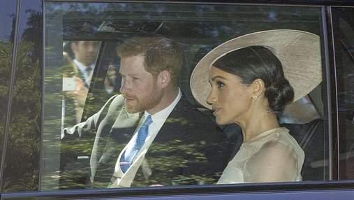 Перший вихід Меган Маркл та принца Гаррі у статусі подружжя: фото