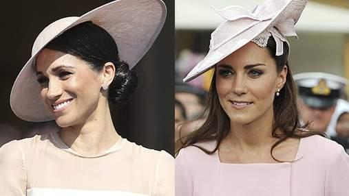 Образ Меган Маркл в Букінгемському палаці порівняли з Кейт Міддлтон: деталі