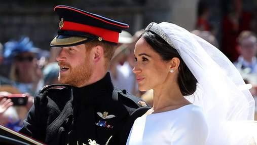 Які весільні подарунки отримали принц Гаррі та Меган Маркл
