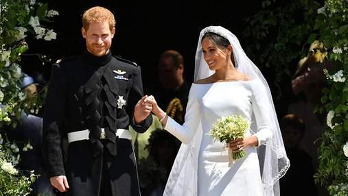 Дизайнера весільної сукні Меган Маркл запідозрили в плагіаті: фотопорівняння