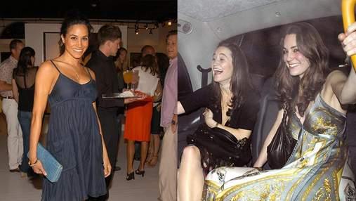 Як виглядала Кейт Міддлтон і Меган Маркл до королівського життя: архівні фото