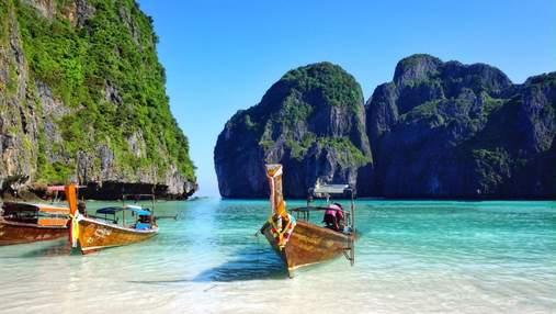 Райский пляж в Таиланде закроют из-за голливудского актера