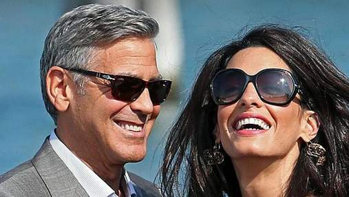 Джордж и Амаль Клуни отправились на отдых в Италию: яркие фото