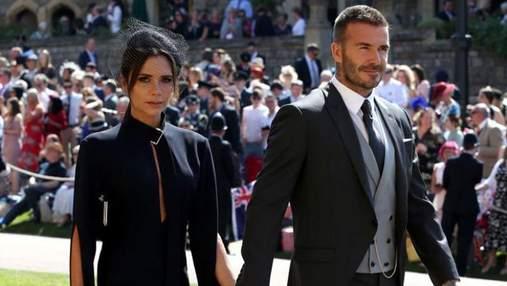 Девід та Вікторія Бекхем виставили на продаж одяг з королівського весілля: відома причина