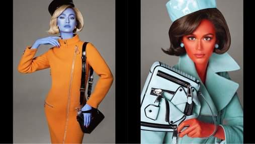 Джиджи Хадид и Кайя Гербер стали пришельцами в новом кампейне Moschino