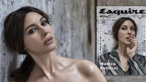Ідеал жіночої краси: 53-річна Моніка Беллуччі знялася на обкладинку журналу Esquire