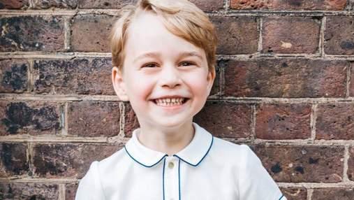 В день рождения принца Джорджа опубликовано его новое очаровательное фото